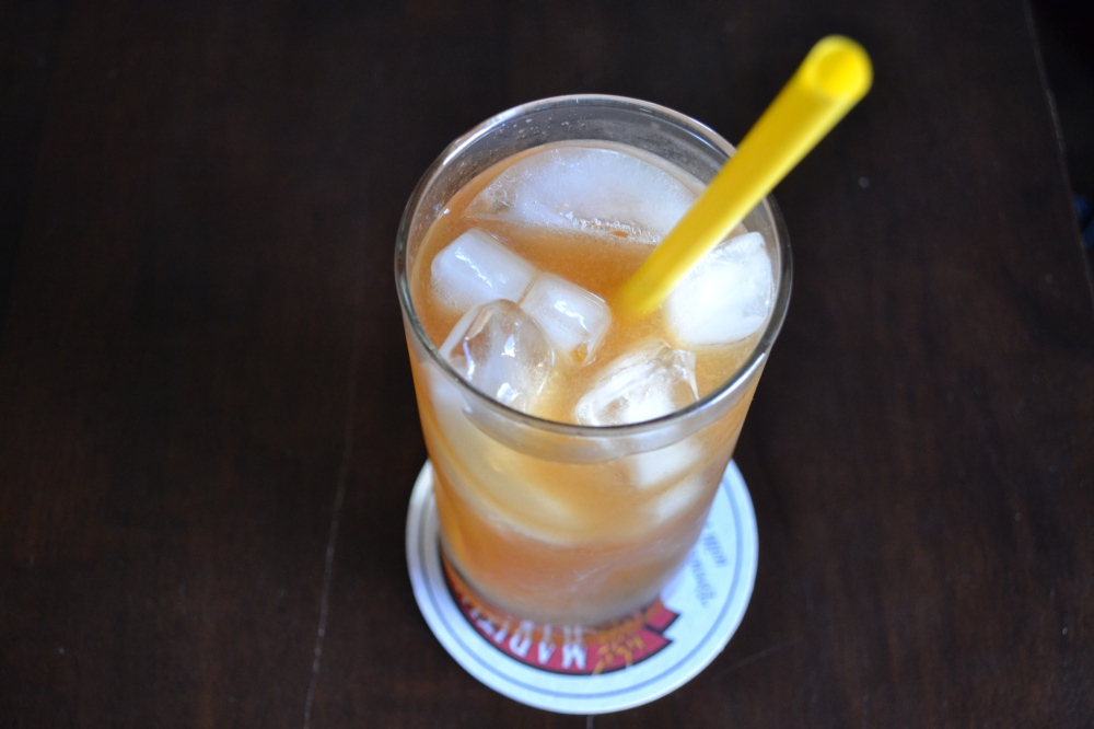 Sweet Tea Cocktail with Peach-Infused Vodka