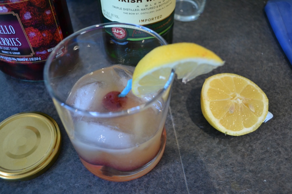 My whiskey sour