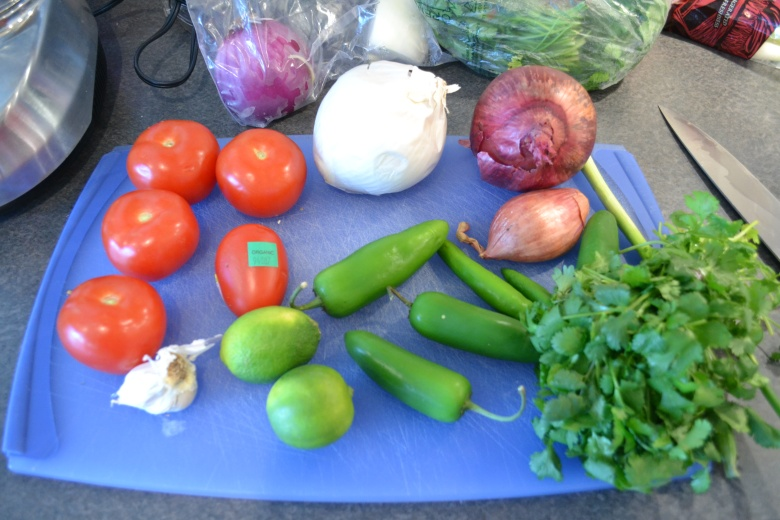 It's all about the fresh and bright ingredients!