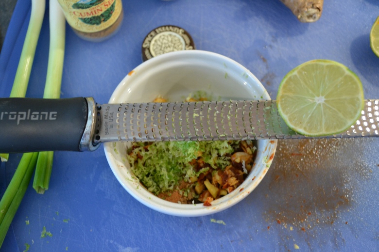 The microplane - one of my favorite kitchen tools