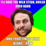 milk steak