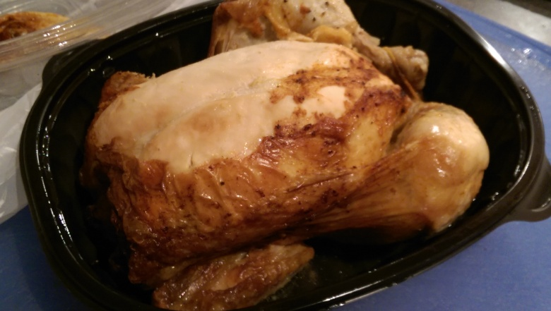 Ah, the rotisserie chicken: such a versatile little creature!