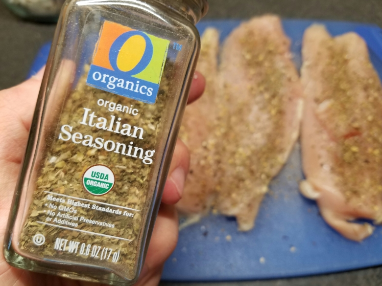 Just normal Italian seasoning.